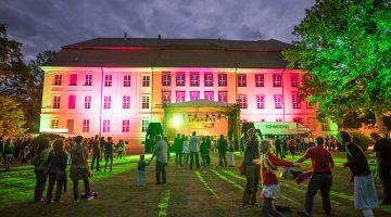 Kunst & Kulturfest Schloss bei Nacht
